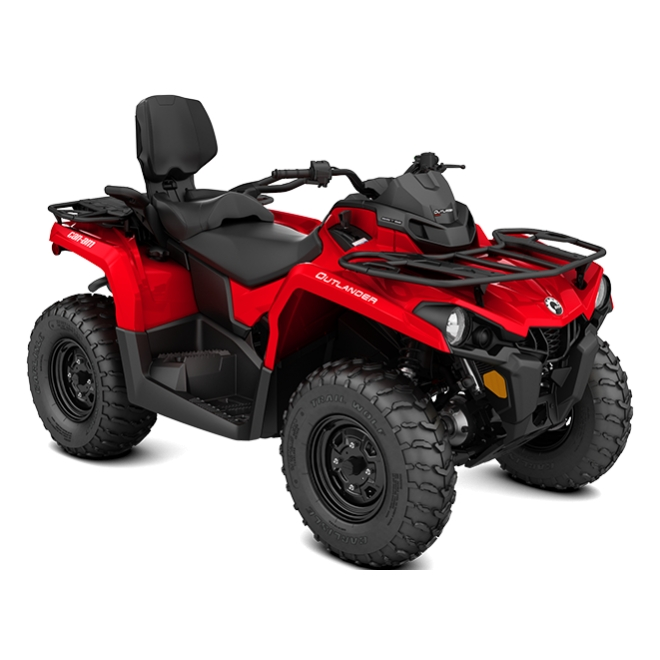 Outlander MAX 450 Base Viper Red INT 2018