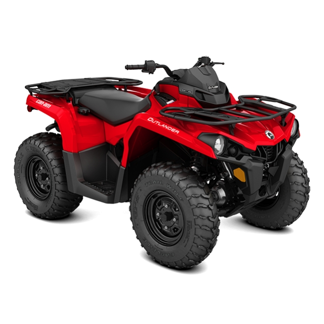 Outlander 450 Base Viper Red INT 2018