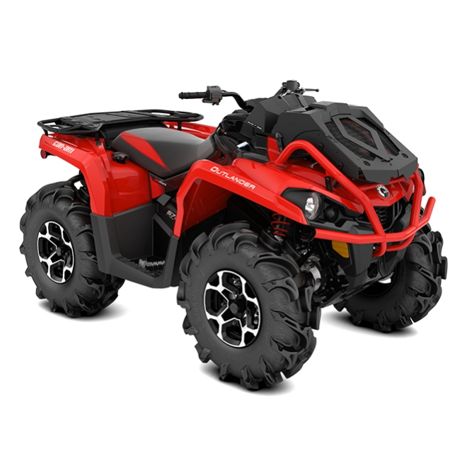Outlander 570 X mr Black & Can-Am Red INT 2018