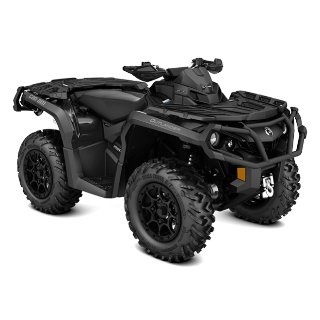 Outlander 1000R XT-P Triple Black INT 2018
