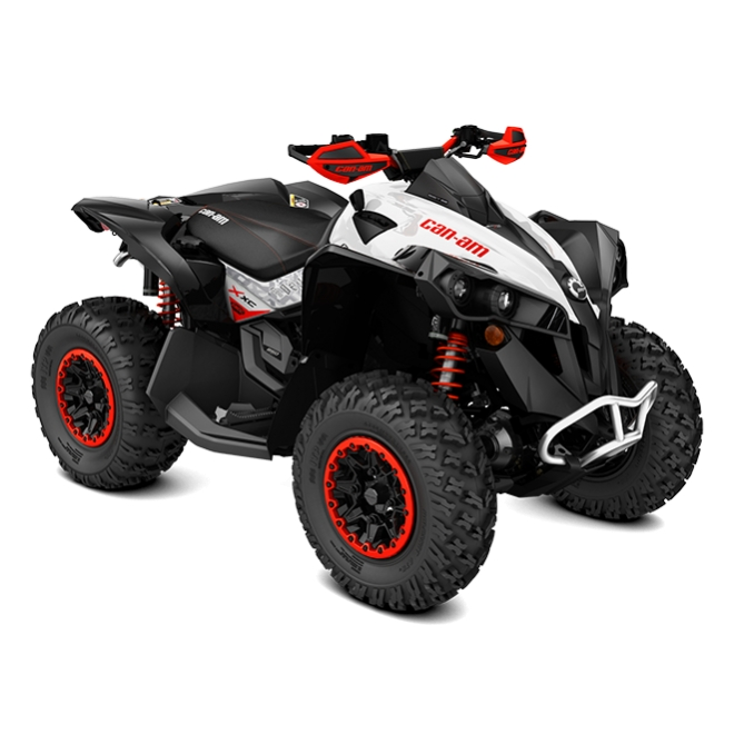 Renegade 850 X xc White, Black & Can-Am Red INT 2018