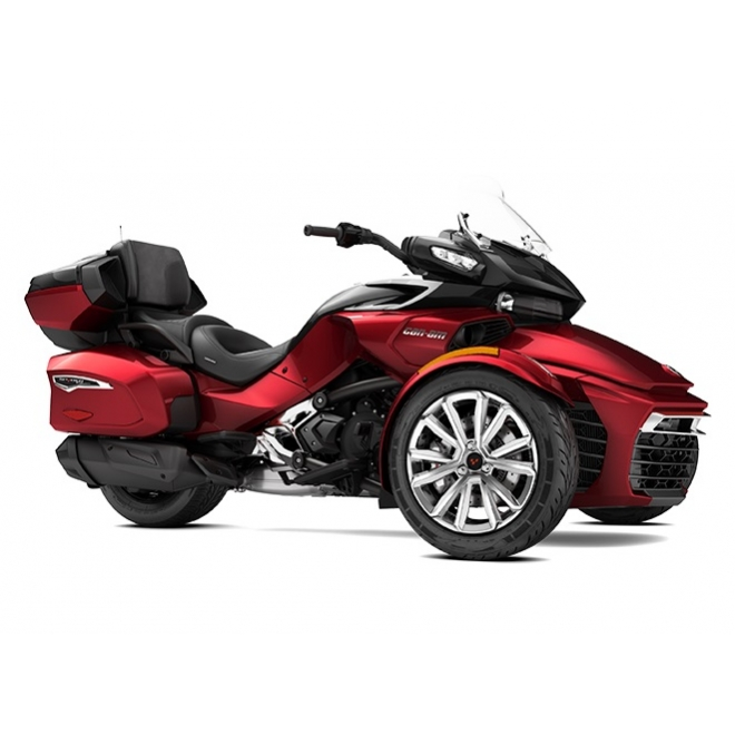 Spyder F3 Limited 1330 ACE SE6 Intense Red & Pure Magnesium Metallic 2017