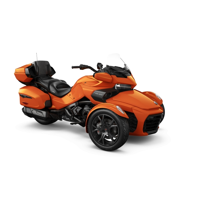 Spyder F3 LTD 1330 ACE SE6 Phoenix Orange Metallic (Dark) MY19