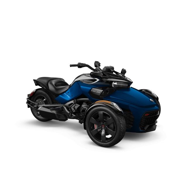 Spyder F3 S  1330 ACE SE6 Oxford Blue Metallic MY19