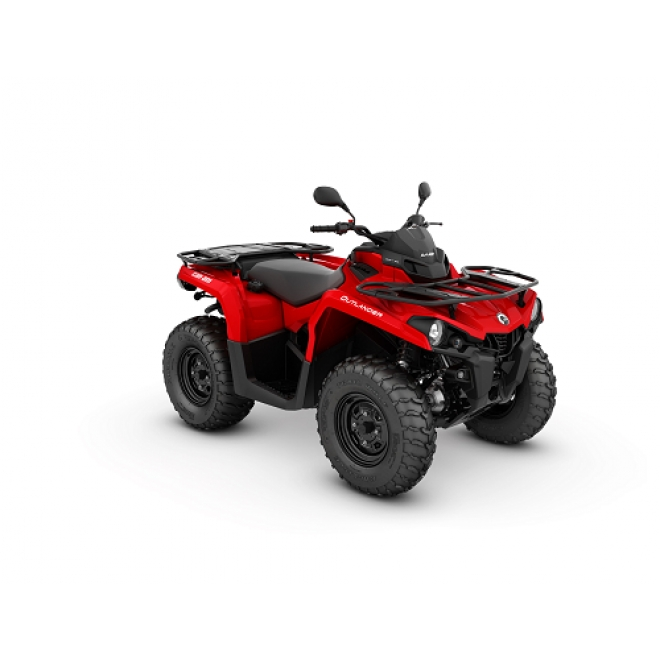 Outlander STD 450 T VIPER RED MY20