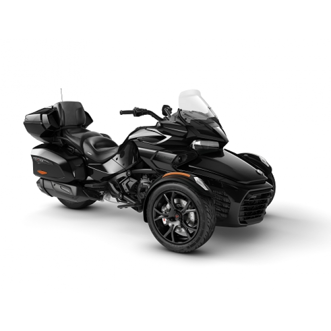 Spyder F3 LTD Dark Steel Black Metallic MY20