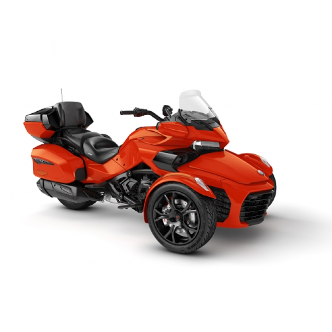 Spyder F3 LTD Magma Red Metallic Dark Edition MY20