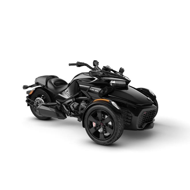 Spyder F3 Steel Black Metallic MY20