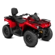 Outlander MAX 450 Base Viper Red INT 2018
