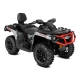 Outlander MAX 650 XT Brushed Aluminum & Can-Am Red INT 2018