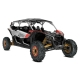 Maverick MAX X rs Turbo R INT Gold, Can-Am Red / Hyper Silver MY19